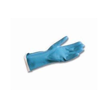 Pack 12 Guantes Nitrilo Azul Industriales. Talla L.