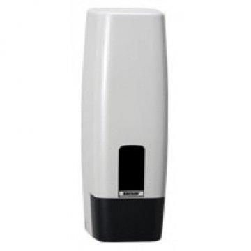 Dispensador jabón Katrin Inclusive 1L. Medidas 10x11x28cm.