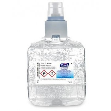 Pack 2 Cargas Gel Alcohólico Purell LTX 1200ML