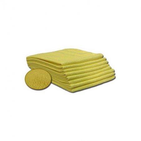 Pack 12 Bayetas Microfibra 40x36CM AMARILLO