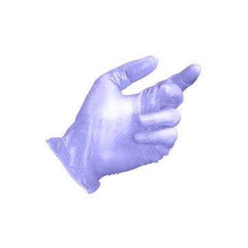 Pack 100 Guantes Vinilo Azul sin Polvo Talla S