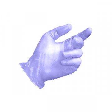 Pack 100 Guantes Vinilo Azul Sin Polvo Talla M