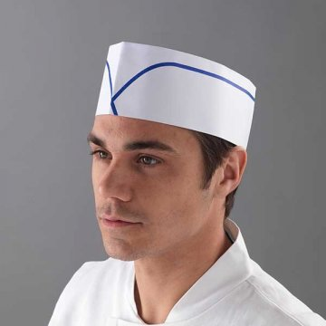 Pack 1000 Gorros Cocinero Barco Desechables