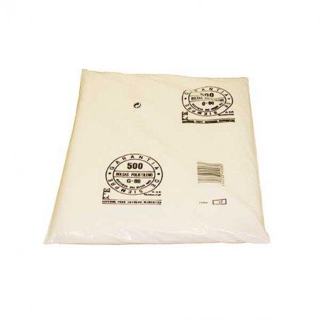 Pack 500 Bolsas Plástico Transparentes 30x40CM