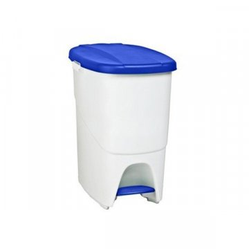 Papelera Plástico 25L PEDALBIN Azul