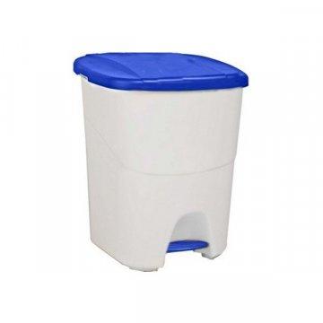 Papelera Plástico 40L PEDALBIN Azul