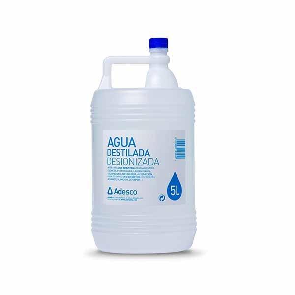 Garrafa 5L agua destilada
