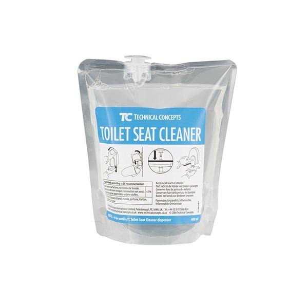 Pack 12 cargas jabón desinfectante tapa WC 400 ml