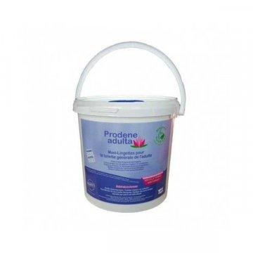 Cubo 450 Toallitas Higiene Íntima Prodene Adulta