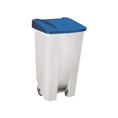 Contenedor Basura Selectivo 120L. Tapa Color Azul.
