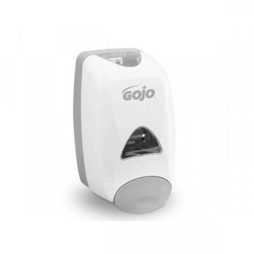 Dispensador Manual Jabón Gojo FMX 1250ML Blanco-Gris