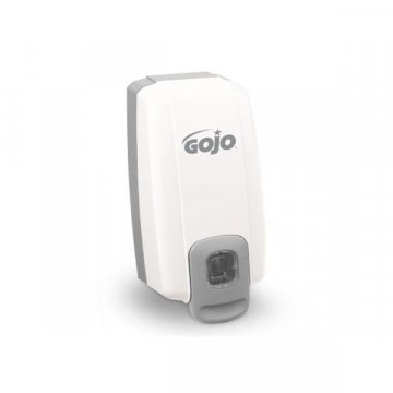 Dispensador Manual Jabón Gojo NTX 1000ML Blanco-Gris