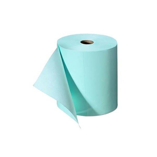 Bobina TNT Chicopee Critical Cleaning. 400 Servicios. Color Azul.