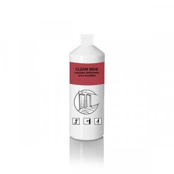 Envase 1L Limpiador Abrillantador Acero Inoxidable CLEAN INOX