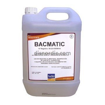 Desinfectante 30L BACMATIC con Registro HA