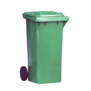 Contenedor Residuos 120L. Color Verde.